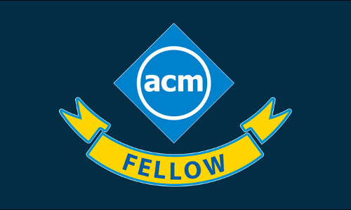 The ACM Fellows badge.
